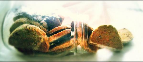 Munchy Pumpkin Biscotti Treats for Dogs
