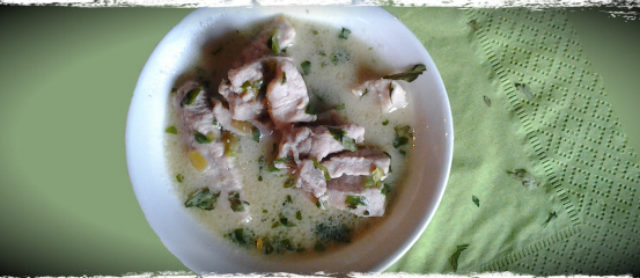 Thai Coconut Pork Soup for Dogs Recipe
