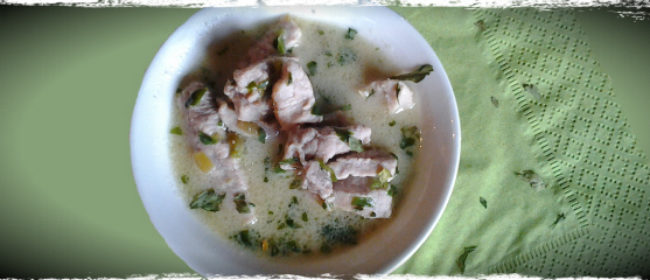 Thai Coconut Pork Soup for Dogs Recipe