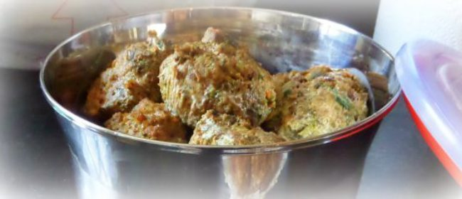 Lamb Kebabs with Lentils, Cucumber and Spinach-A Homemade Dog Food Recipe