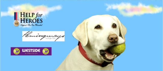 Be part of Hemingway's- Wimbledon Tennis Marathon Charity Event