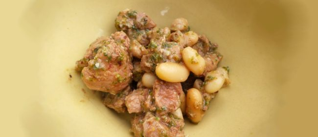 Homemade Dog Food Recipe: Grilled Lamb With puree Spinach & Cannellini Beans