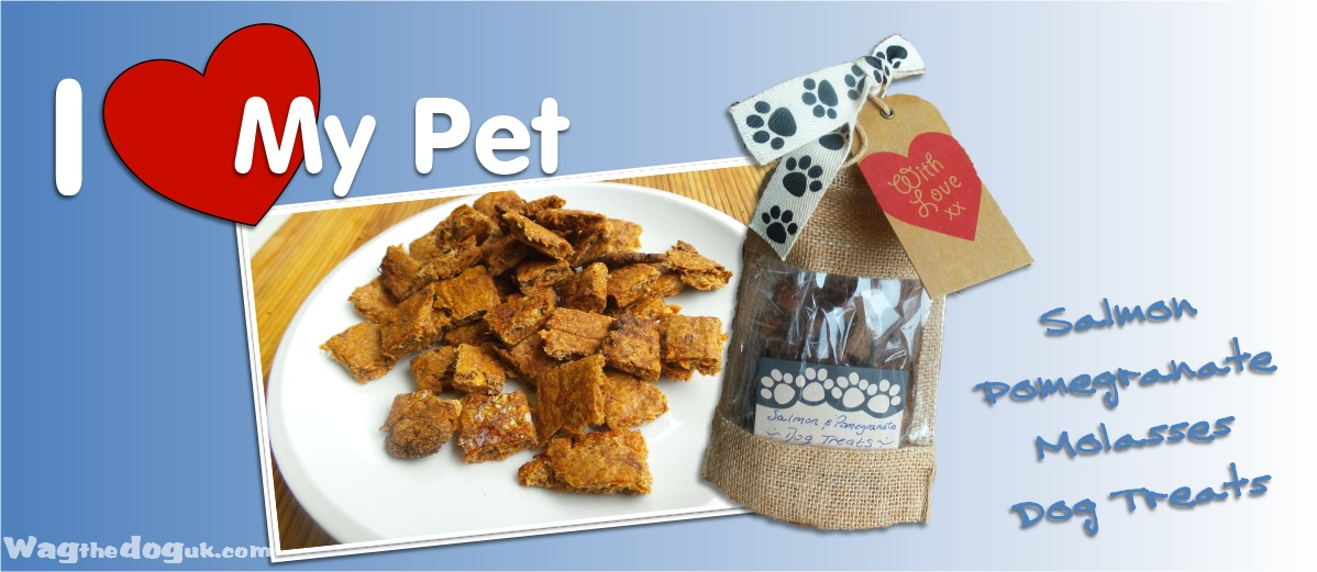 Heart My Pet craft project-Salmon Pomegranate Molasses Dog Treats