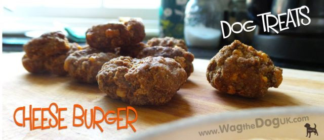 Cheese Burger Dog Treats to Crunch & Munch [Recipe]
