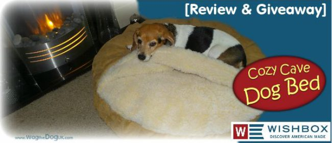 wishbox usa snoozer cozy cave dog bedgiveaway u0026 review - Cozy Cave Dog Bed