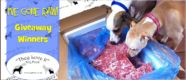 They Love it Dog Food– Our Wagging Giveaway Winner