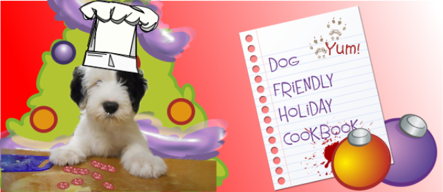 Holiday Dog Treats Recipe Book [ Free ]