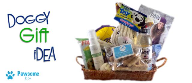 A Dog Gift Idea Pawsome Box Delivers